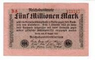 NIEMCY 5.000.000 MARK 1923 B10