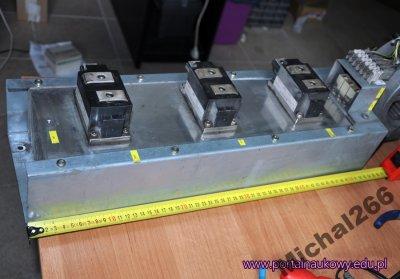 Trójfazowy mostek prostowniczy DD261N24K radiator