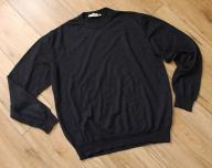 A.W.DUNMORE _ męski sweter _XL 100% wełna granat