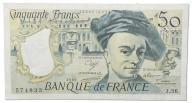 24.Francja, 50 Franków 1989, P.152.d, St.2/3+