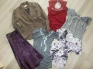Zestaw ubrań S/36 marynarka/żakiet bluzki,spódnica
