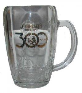 KUFEL do piwa 300 lat BROWAR LWOWSKI - NOWY Lwów