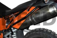 Tylne gmole HEED do KTM 950 i 990 ADVENTURE Czarne