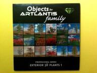 ARTLANTIS Objects - Exterior 3D Plants 1 - CD Dysk