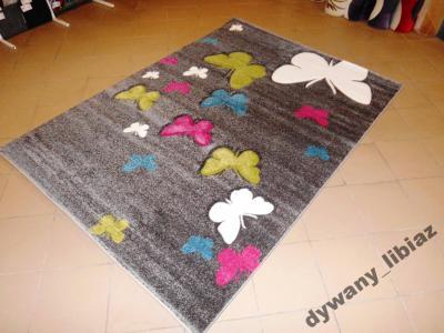 Motyle Motylki Dywan Dzieci 160x230 Butterfly 3d 6361977031