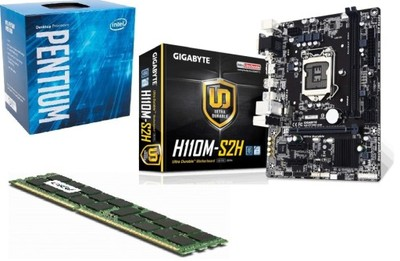 Gigabyte GA-H110M-S2H+INTEL G4560 3,5GHz+8GB DDR4