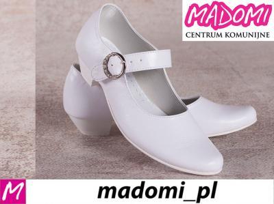 b0c1ab093b MADOMI buty dziewczęce do komunii komunijne 902 32 - 5720377389 ...