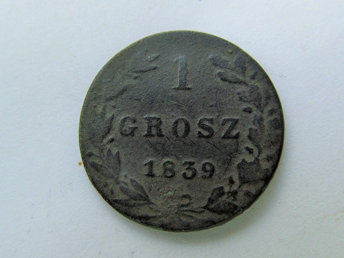 1 Grosz 1839.