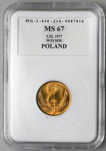 4669. 2 zł 1977 w opakowaniu PCG