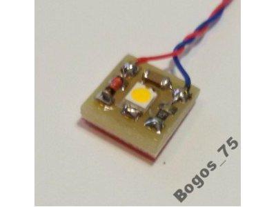 LED 12-16V AC oświetlenie budynków H0 TT N