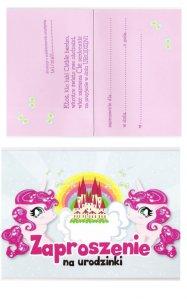 Zaproszenie Na Kids Party Urodziny Jednorożce 6100107708