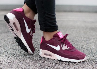 air max 90 damskie bordowe
