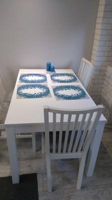 Biały Stół 4 Białe Krzesła Ikea Polecam 6675437979