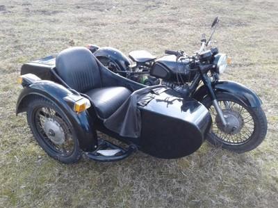 Zabytkowy Motocykl Z Koszem Dniepr Mt 11 650 Cm3 6792149386 Oficjalne Archiwum Allegro