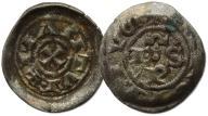 21.MANTUA, DENAR SCODELATO 1150 - 1256