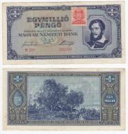 354(22b) - Węgry,Milion Pengo 1945
