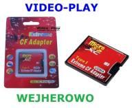ADAPTER CF microSD SDHC SDXC do COMPACT FLASH