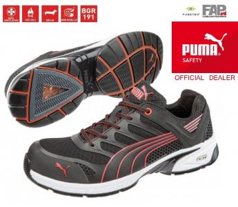Buty ochronne Puma Fuse Motion Red ESD S1P 41