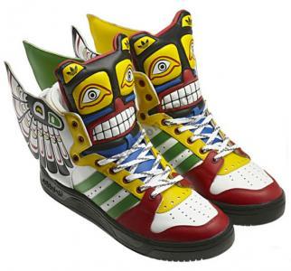 Adidas Jeremy Scott Skrzydla Totem Wings 37383940 4966111732 Oficjalne Archiwum Allegro