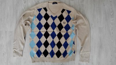 Fred Perry sweter roz.L
