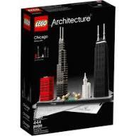 KLOCKI LEGO ARCHITECTURE 21033 CHICAGO