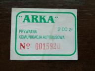 bilet u99 Otwock ARKA