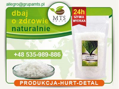 Chlorek Magnezu Sześciowodny 1kg Czysty + GRATIS
