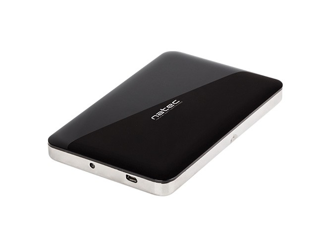 NATEC KIESZEŃ NA DYSK USB 2.0 SATA HDD SSD 2,5 ALU