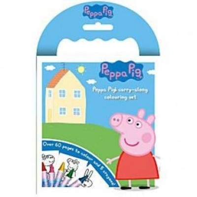Anker PECAR Peppa Pig Carry Along Colouring Set