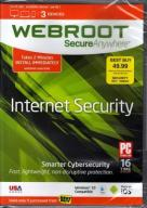 WEBROOT SecureAnywhere Internet Security 3 devices