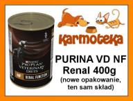 PURINA PVD Veterinary NF RENAL pies PUSZKA 400g