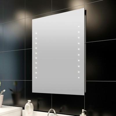 Vidaxl Lustro łazienkowe 50x60cm Oświetlenie Led