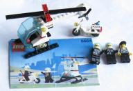 LEGO HELIKOPTER 6664 CHOPPER COPS + INSTRUKCJA