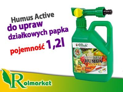 HUMUS ACTIVE PAPKA 1,2L SPRAY do upraw działkowych