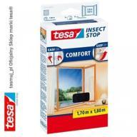 Moskitiera okienna tesa Comfort 1,7m x 1,8m czarna
