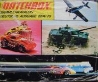 MATCHBOX -KATALOG MODELI na lata 1974/75