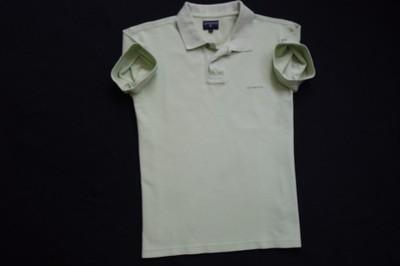 COTTONFIELD koszulka polo zielona logowana lato__S