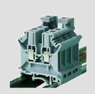 Zacisk na szynę 4mm szary ZUG 4 / TSKA4