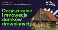 OCZYSZCZANIE drewnianych domków budynków SODOWANIE