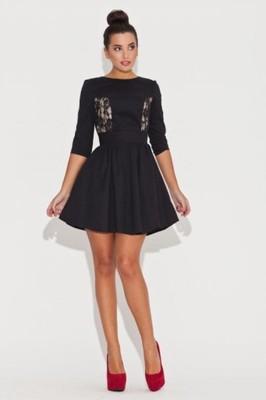 czarne sukienki dla nastolatków