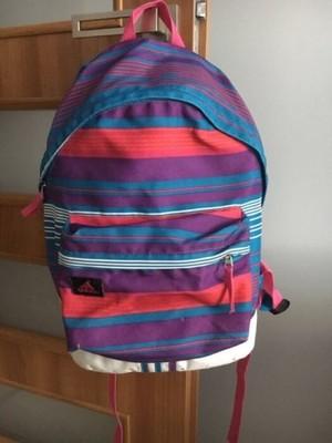 Dwa plecaki szkolne Adidas Atmosphere