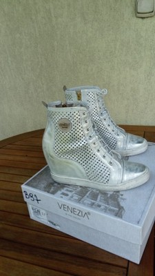 1bd5f9cc89f6f Buty na koturnie koturny sneakersy trampki Venezia - 6861407139 ...