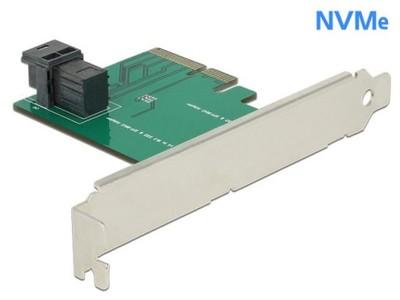 KARTA PCI EXPRESS X4->1X SFF-8643 NVME DELOCK S