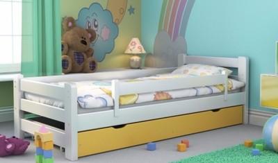 łóżko Dla Dzieci Dziecięce 160x70 Z Barierką Szuf 6967532756
