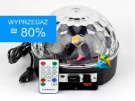 !! KULA DYSKOTEKOWA LED MAGIC BALL DISCO LASER USB