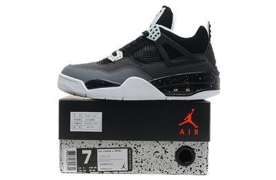Gdzie mogę kupić kup sprzedaż buty sportowe NIKE JORDAN 4 RETRO! CZARNO SZARE! 40! - 4745926497 ...