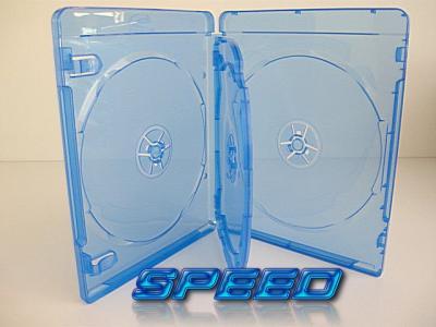 Pudełka BLU RAY x4 BLUE 14mm (niebieskie) 10 szt
