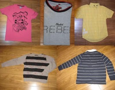 MEGA PAKA Koszulek i in. Marks&Spencer i inne