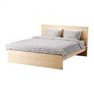 Ikea Malm łóżko 160 Cm Poznań Rama łóżka