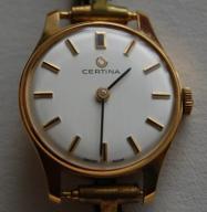 Nowy Złoty zegarek CERTINA - 18k - próba 750